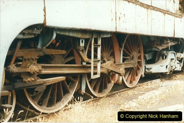 China 1999 October Number 3. (202)  China Rail Lingfen Depot202