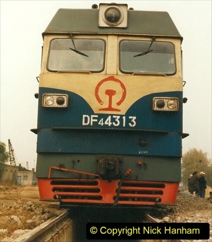 China 1999 October Number 3. (248) China Rail Sujiatum Diesel Depot. 248