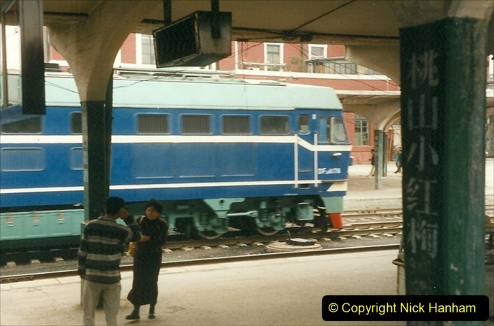 China 1999 October Number 3. (4) Lhifeng to Anshan by rail. 004