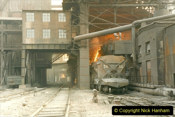 China 1999 October Number 3. (44) Anshan Steel Works. The works area was very, very dirty.  044