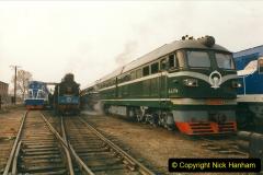 China 1999 October Number 3. (147)  China Rail Lingfen Depot147