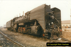 China 1999 October Number 3. (150)  China Rail Lingfen Depot150