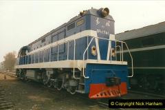 China 1999 October Number 3. (153)  China Rail Lingfen Depot153