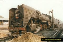 China 1999 October Number 3. (155)  China Rail Lingfen Depot155