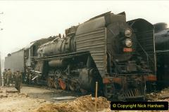 China 1999 October Number 3. (157)  China Rail Lingfen Depot157