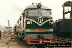 China 1999 October Number 3. (158)  China Rail Lingfen Depot158