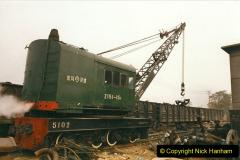 China 1999 October Number 3. (161)  China Rail Lingfen Depot161
