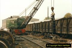 China 1999 October Number 3. (162)  China Rail Lingfen Depot162