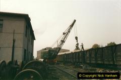 China 1999 October Number 3. (163)  China Rail Lingfen Depot163