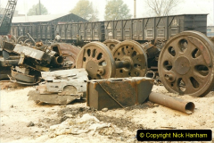 China 1999 October Number 3. (167)  China Rail Lingfen Depot167