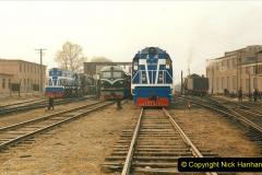 China 1999 October Number 3. (168)  China Rail Lingfen Depot168