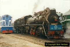 China 1999 October Number 3. (171)  China Rail Lingfen Depot171