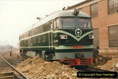 China 1999 October Number 3. (173)  China Rail Lingfen Depot173