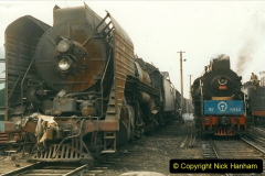 China 1999 October Number 3. (174)  China Rail Lingfen Depot174