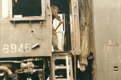 China 1999 October Number 3. (175)  China Rail Lingfen Depot. 175