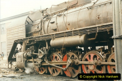 China 1999 October Number 3. (176)  China Rail Lingfen Depot176