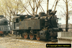 China 1999 October Number 3. (177)  China Rail Lingfen Depot177