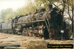China 1999 October Number 3. (181)  China Rail Lingfen Depot181