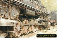 China 1999 October Number 3. (183)  China Rail Lingfen Depot183