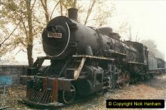 China 1999 October Number 3. (186)  China Rail Lingfen Depot186