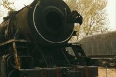 China 1999 October Number 3. (187)  China Rail Lingfen Depot187