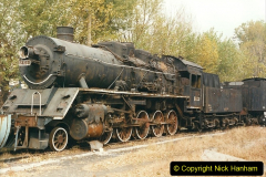 China 1999 October Number 3. (188)  China Rail Lingfen Depot188
