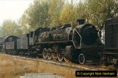 China 1999 October Number 3. (190)  China Rail Lingfen Depot190