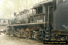 China 1999 October Number 3. (191)  China Rail Lingfen Depot191