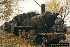 China 1999 October Number 3. (192)  China Rail Lingfen Depot192