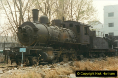 China 1999 October Number 3. (195)  China Rail Lingfen Depot195