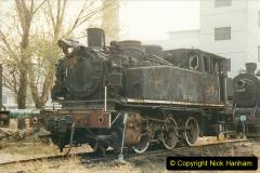 China 1999 October Number 3. (196)  China Rail Lingfen Depot196