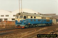 China 1999 October Number 3. (240) China Rail Sujiatum Diesel Depot. 240