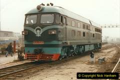 China 1999 October Number 3. (244) China Rail Sujiatum Diesel Depot. 244