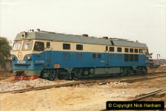 China 1999 October Number 3. (249) China Rail Sujiatum Diesel Depot. 249