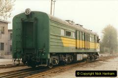 China 1999 October Number 3. (252) China Rail Sujiatum Diesel Depot. 252