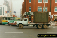 China 1999 October Number 3. (289) One truck.289