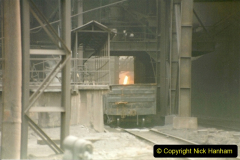 China 1999 October Number 3. (82) Anshan Steel Works. The works area was very, very dirty.  082