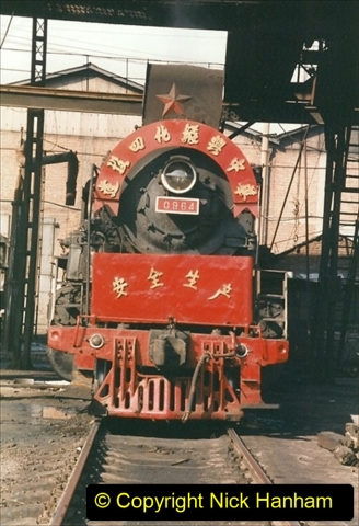 China 1999 October Number 4. (177) Tangshan Coal Mine Rail Depot. 177