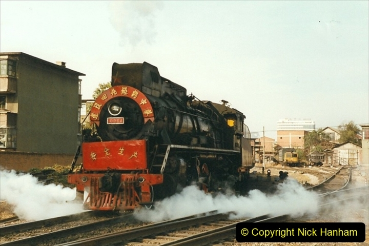 China 1999 October Number 4. (193) Tangshan Coal Mine Rail Depot. 193