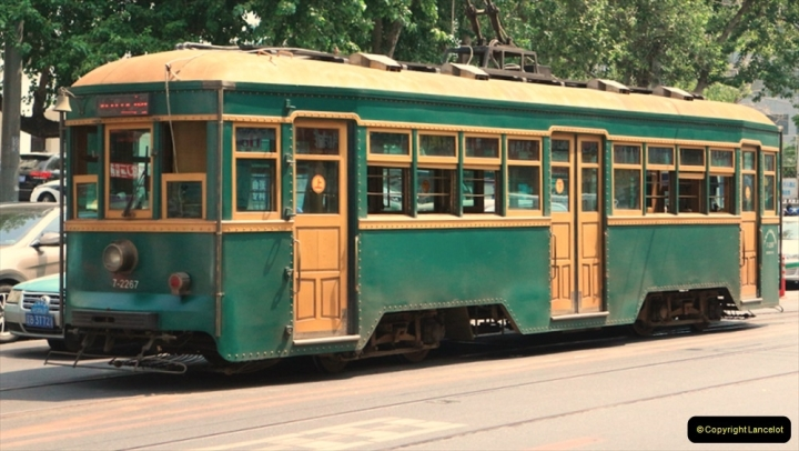 China & UK. (5) Dalian tram class 3000. Dalian is a sole survivor of Chinese tramways like Blackpool. The tram was built in 1931 by Japan and is rare in China. 005