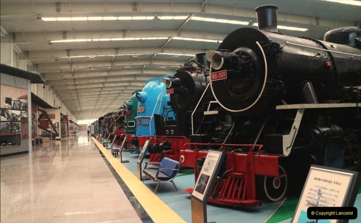 China & UK. (7)  Shenyang Railway Museum. 007