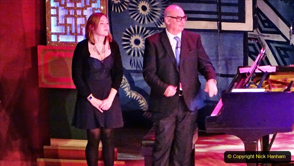 2019-12-12 Christmas Cracker & Bournemouth (40)  The Christmas Cracker Show in aid of the Compton organ fund. 040