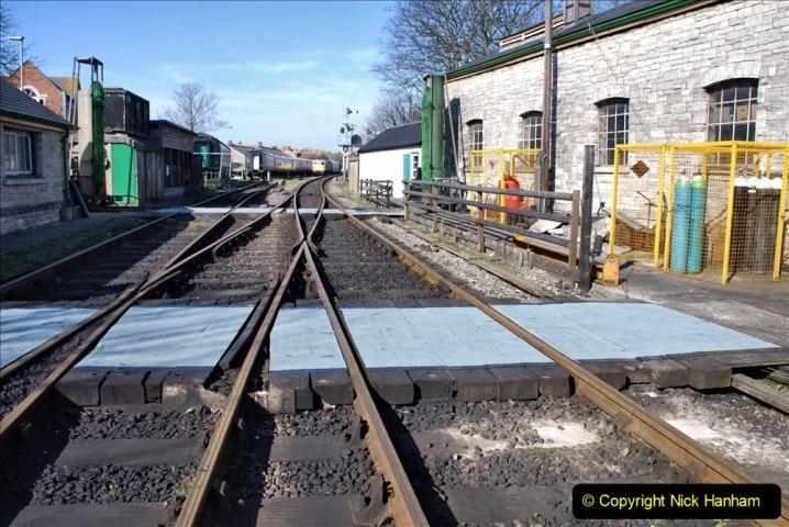 2020-03-23 Covid 19 shuts the Swanage Railway. (17) Swanage. 017