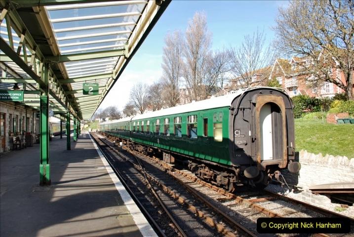 2020 03 23 Covid 19 shuts the Swanage Railway (44) 044