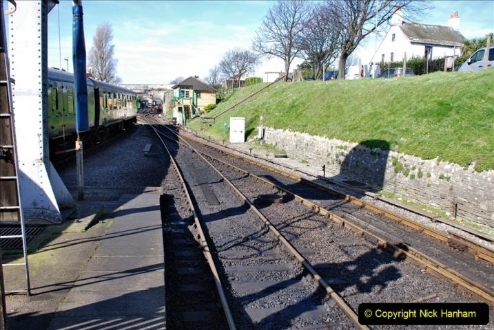 2020 03 23 Covid 19 shuts the Swanage Railway (57) 057