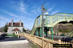 2020-03-23 Covid 19 shuts the Swanage Railway. (100) Corfe Castle. 100