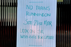 2020-03-23 Covid 19 shuts the Swanage Railway. (79) Corfe Castle. 079