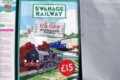 2020-03-23 Covid 19 shuts the Swanage Railway. (80) Corfe Castle. 080
