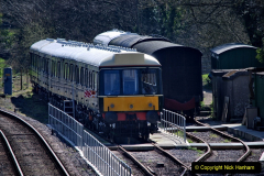 2020-03-23 Covid 19 shuts the Swanage Railway. (90) Corfe Castle. 090