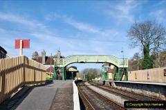 2020-03-23 Covid 19 shuts the Swanage Railway. (93) Corfe Castle. 093